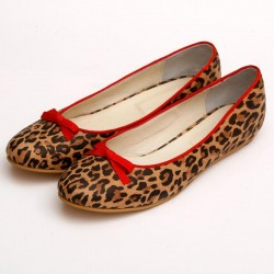 Chatitas de cuero animal print
