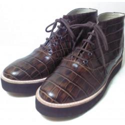 Botas de cuero croco