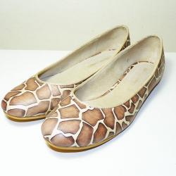 Chatitas de cuero jirafa