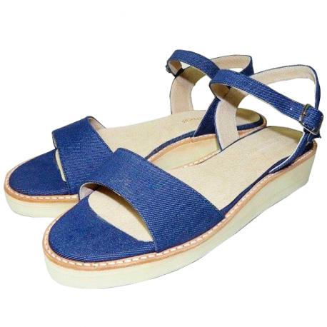 Sandalias de jean