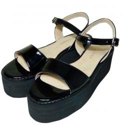 Sandalias de sintético charolado