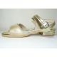 Sandalias de sintético dorado