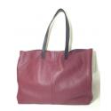 Mini Shopping Bag de cuero